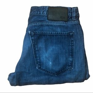 HUGO BOSS Regular Fit Blue Jeans 36X30